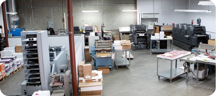 Printing Presses and Printing Facility